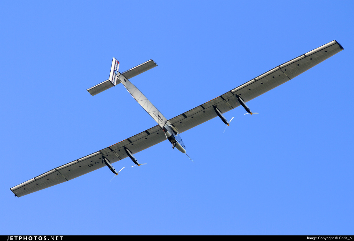 Solar Impulse on its round-the-world flight