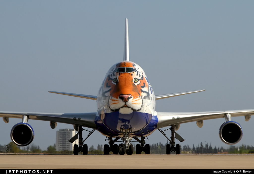 "Transaero's ""Caring for Tigers Together"""