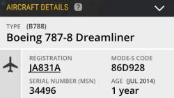 Aircraft Details