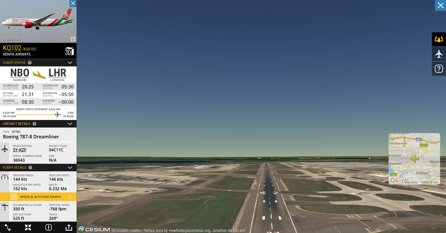 See what the pilots see in our new 3D View!