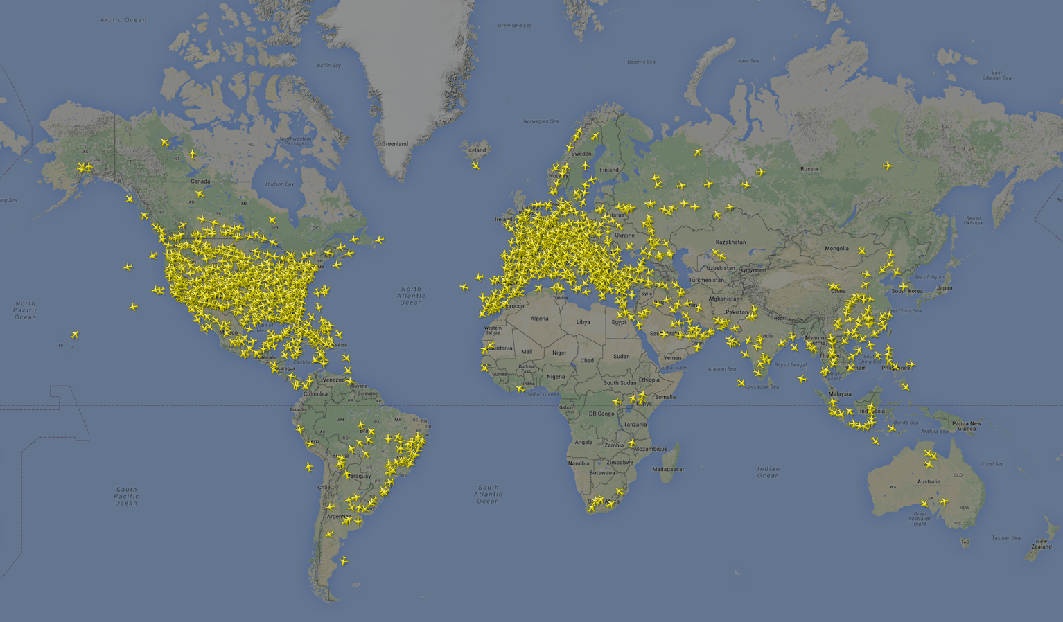 2,882 Boeing 737s in the air