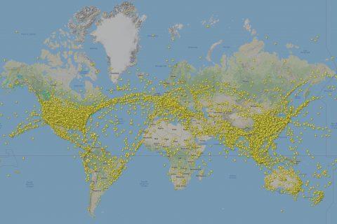 November 2019 Flightradar24 coverage