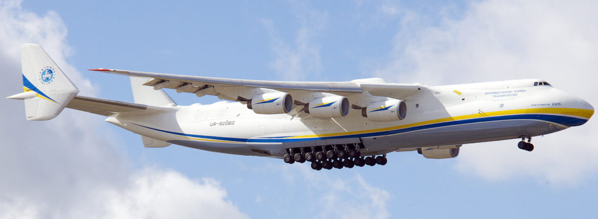 Antonov An 225 Flight Schedule November 2016
