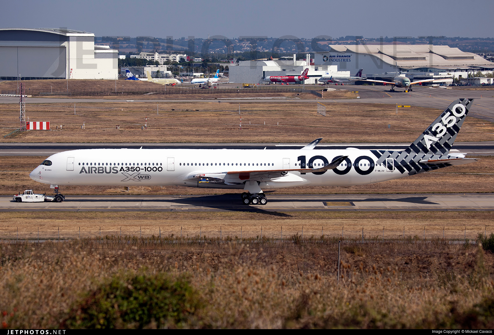A350-1000 MSN 065, the second A350-1000 test aircraft