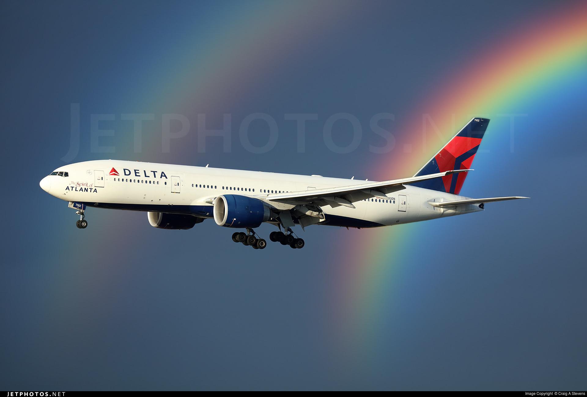 Delta Double Rainbow