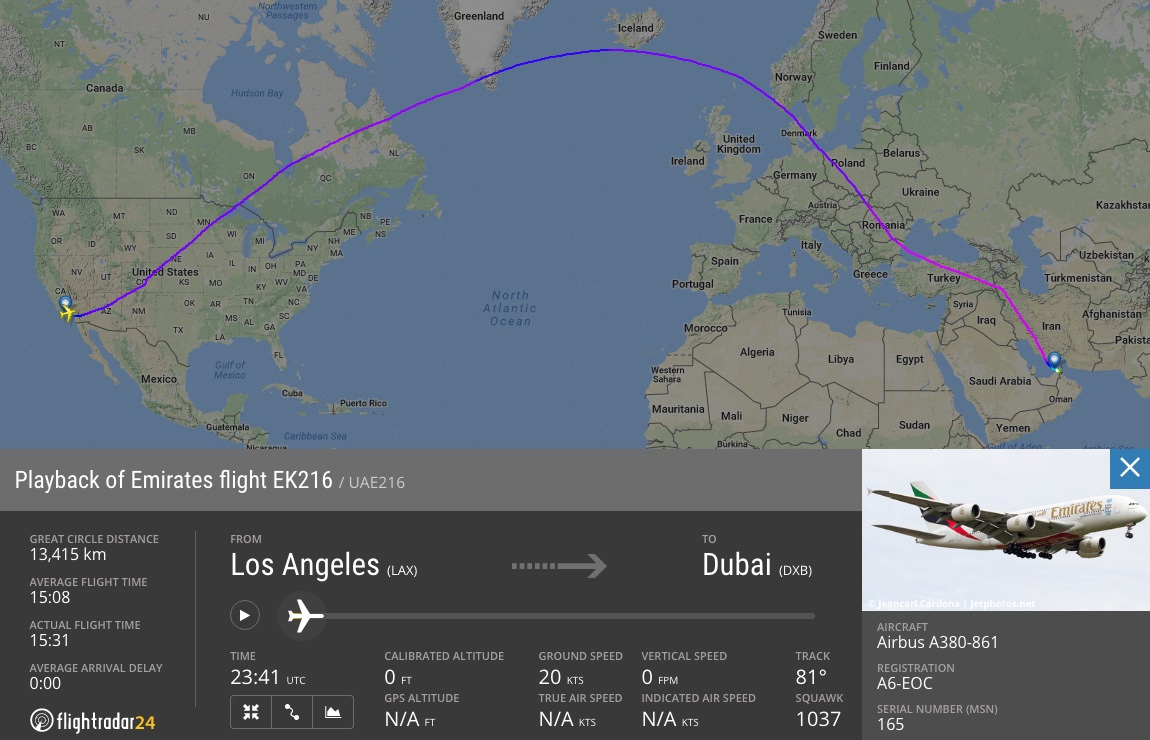 The Emirates A380 Fleet Revisited – Flightradar24 Blog