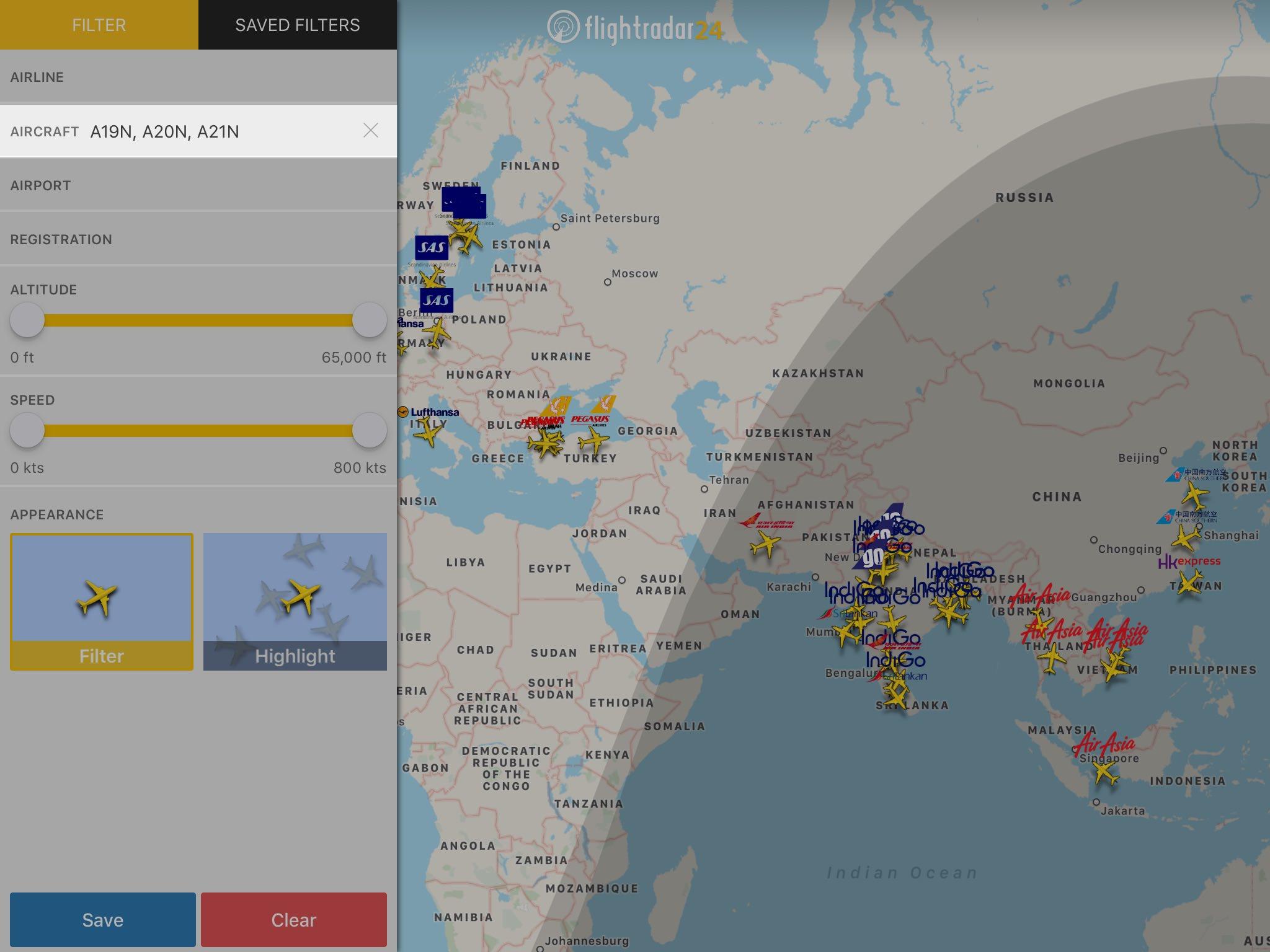flightradar24 app