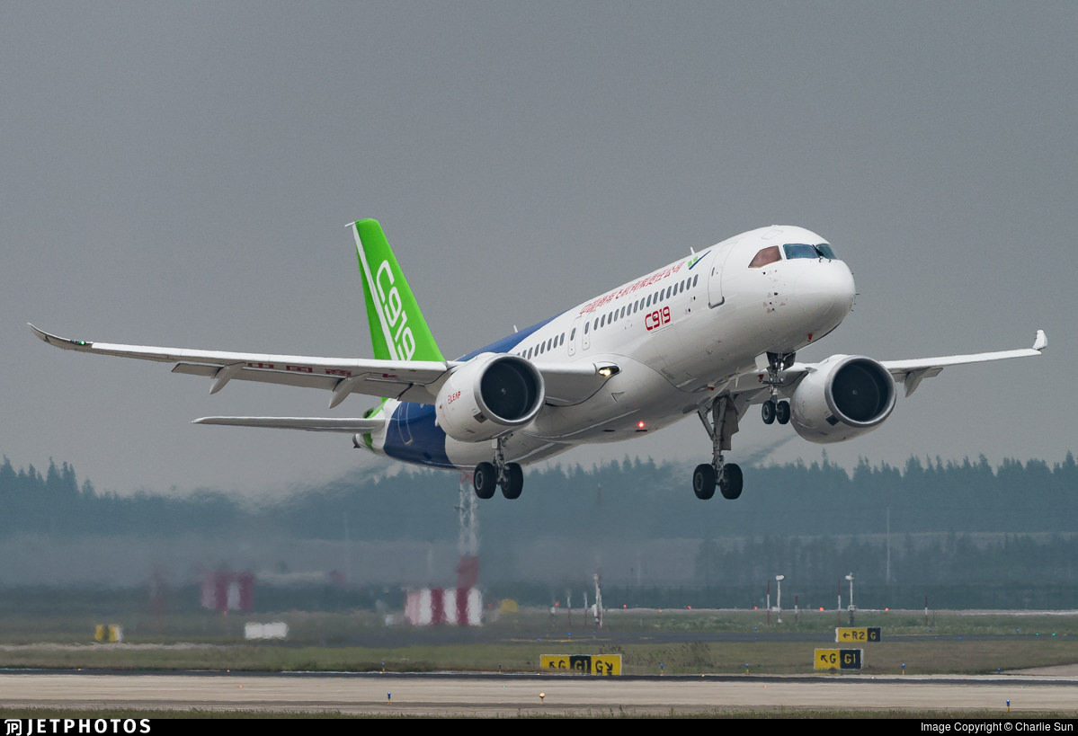 Comac C919 Completes First Flight In Shanghai