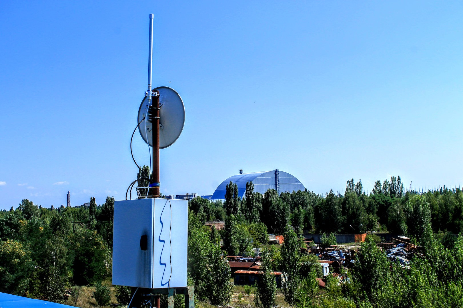 Our New Receiver Near Chernobyl | Flightradar24 Blog