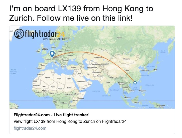 how to add flight facebook