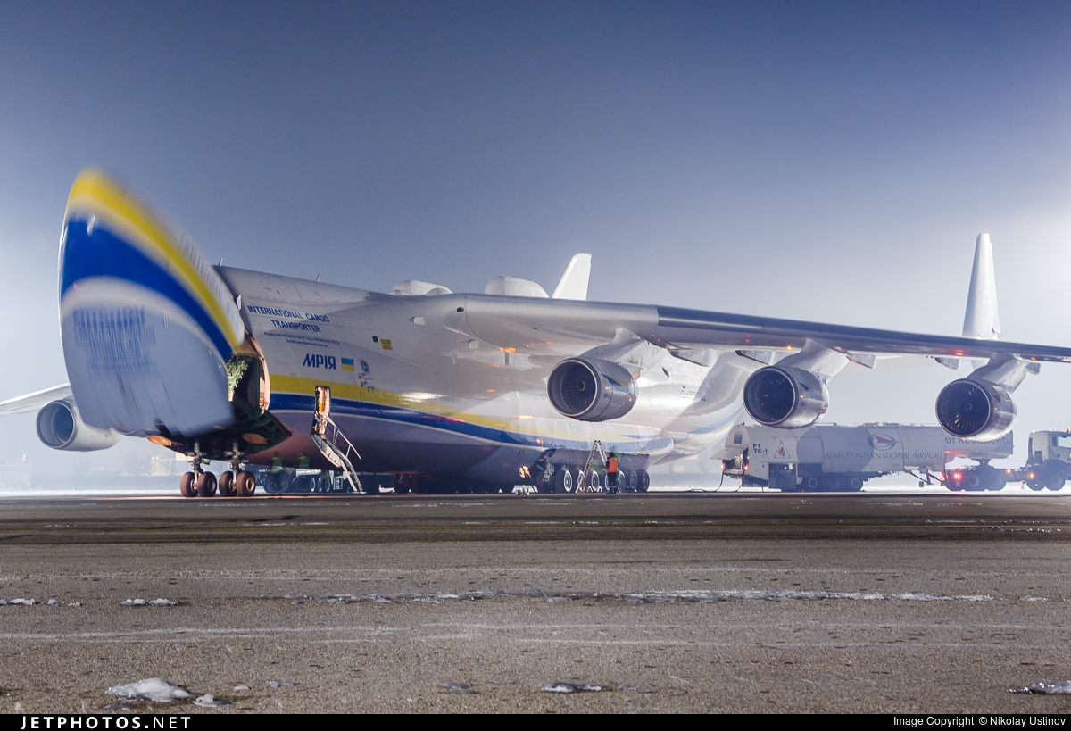 How to track the An-225