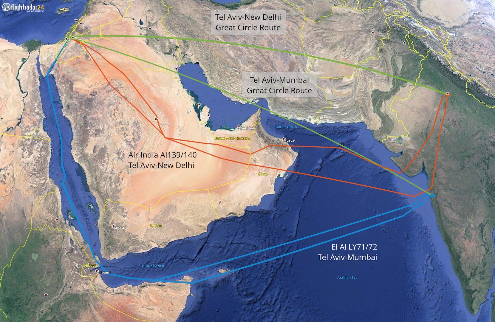 Air India and Qantas Make History with First Flights – Flightradar24 ...