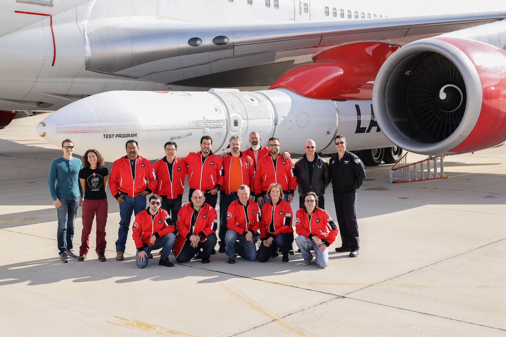Virgin Orbit Team