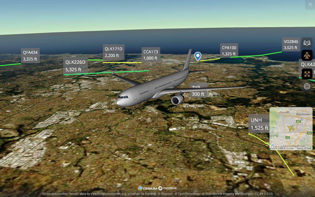Introducing Enhanced 3D View on Flightradar24 | Flightradar24 Blog