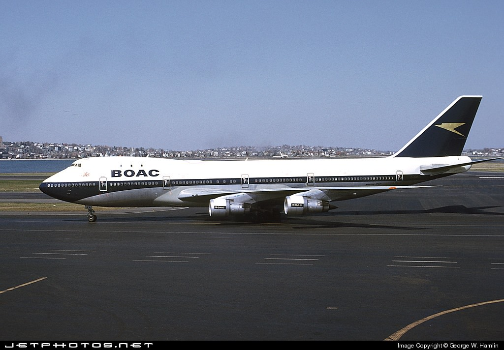 A BOAC 747