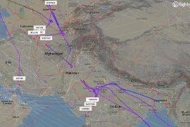Flights reroute to avoid Pakistani airspace