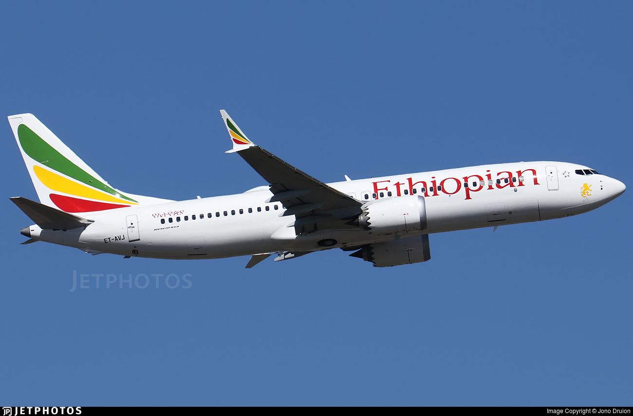Flightradar24 data regarding the crash of Ethiopian Airlines flight