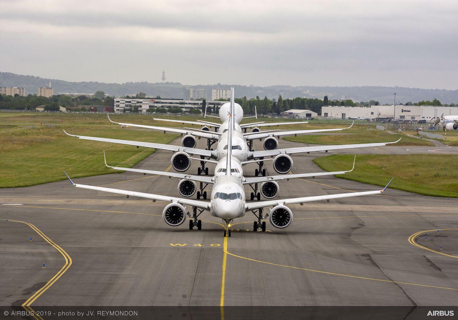 Airbus50 Lineup