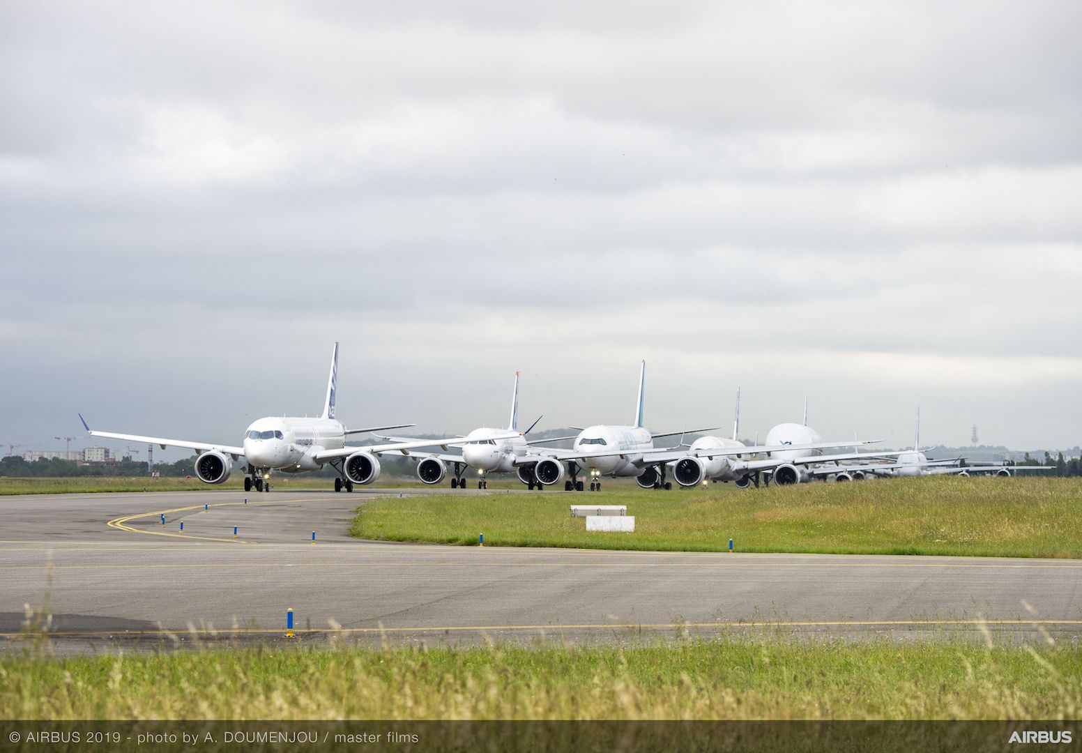 Airbus50 Taxi Queue