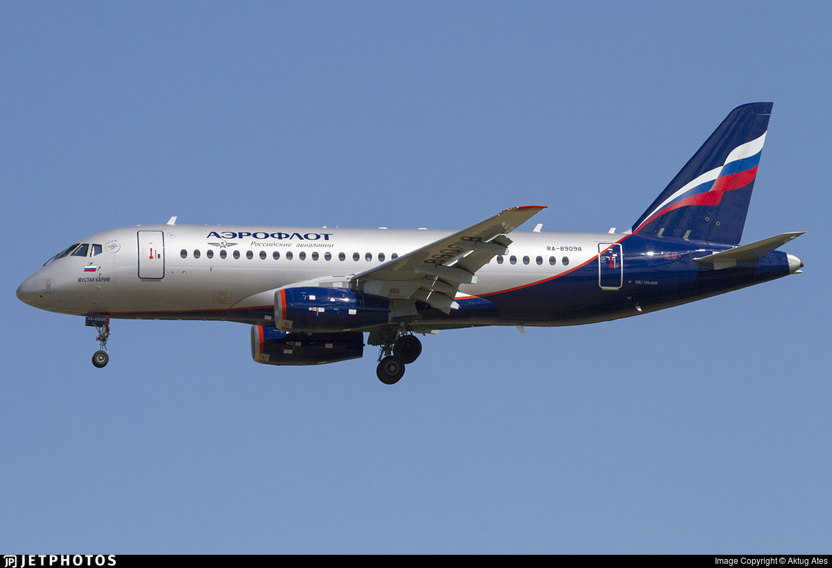 Flightradar24 data regarding Aeroflot flight 1492 | Flightradar24 Blog