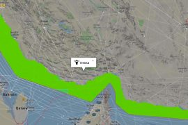 Area of Iranian FIR US aircraft are prohibited from