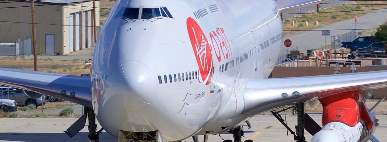 Virgin Orbit's 747
