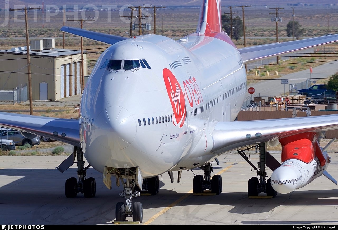 Virgin Orbit's 747