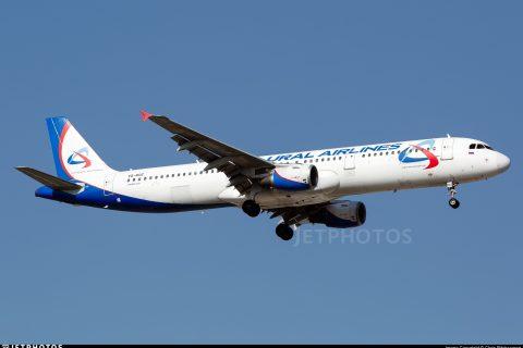 Ural Airlines A321 VP-BOZ