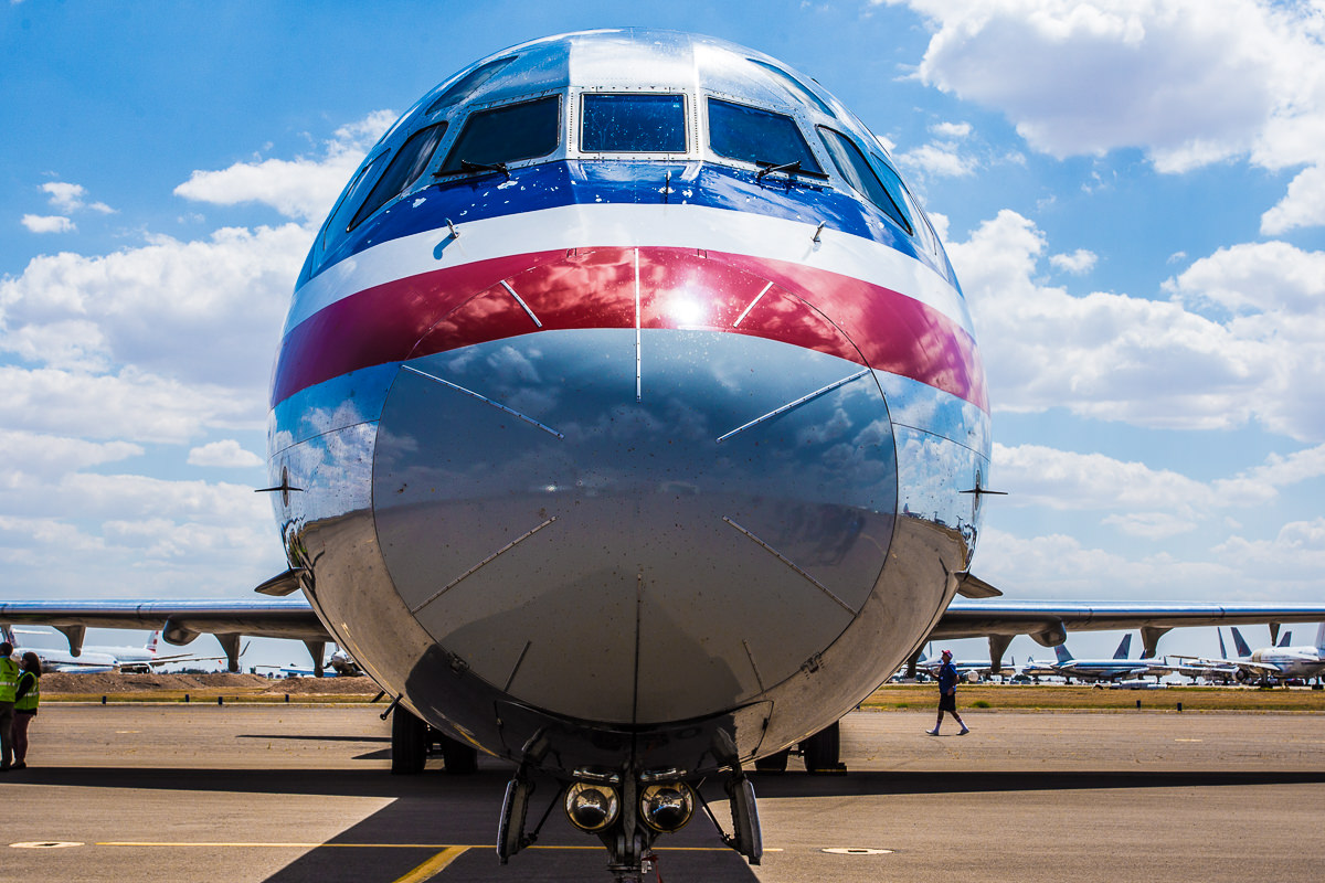 MD-83 Nose