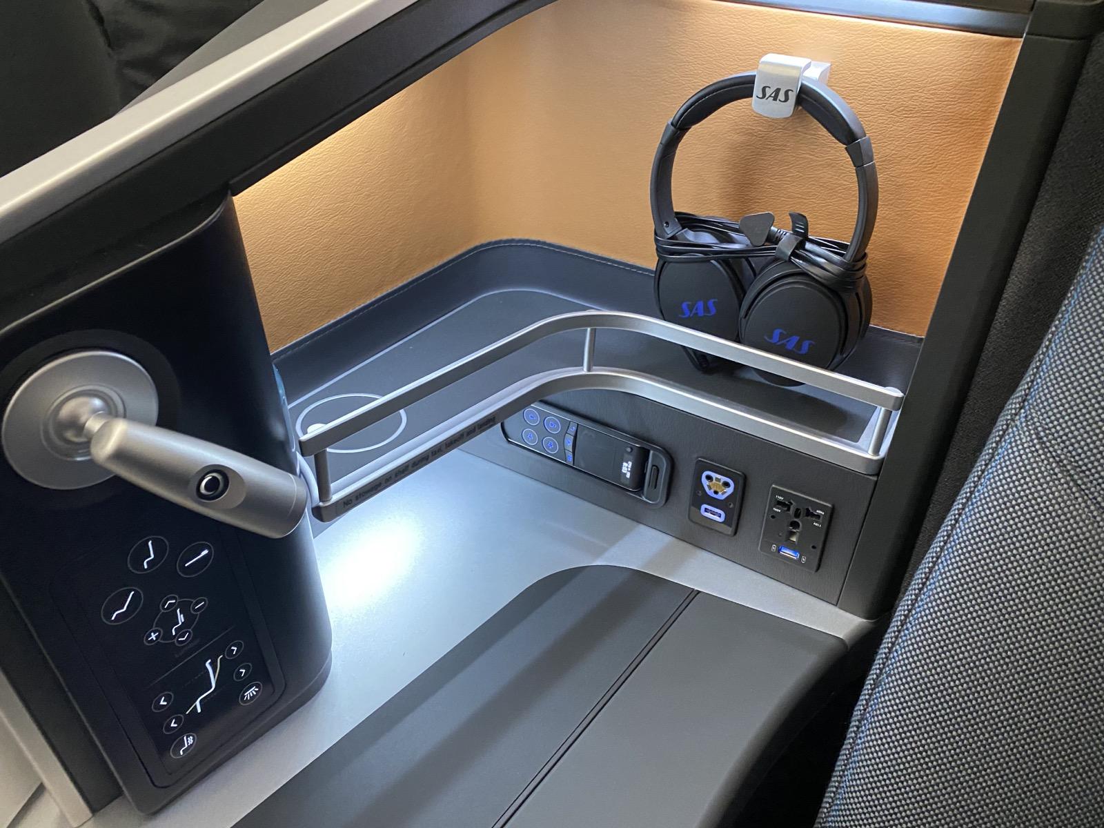 Seat Storage Area