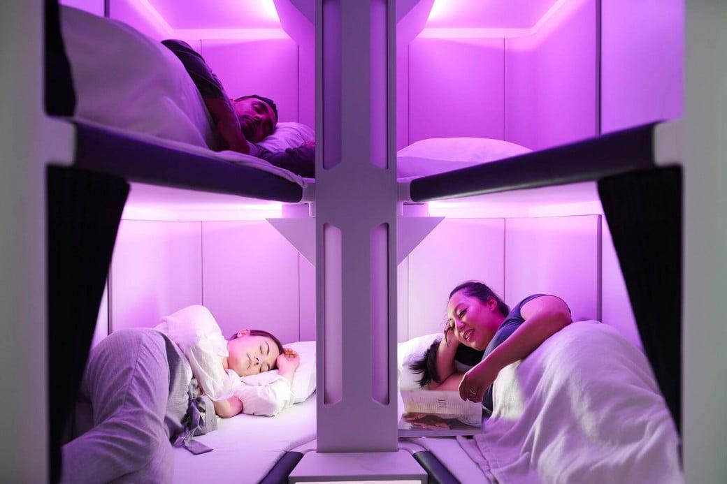 Air New Zealand's Skynest concept
