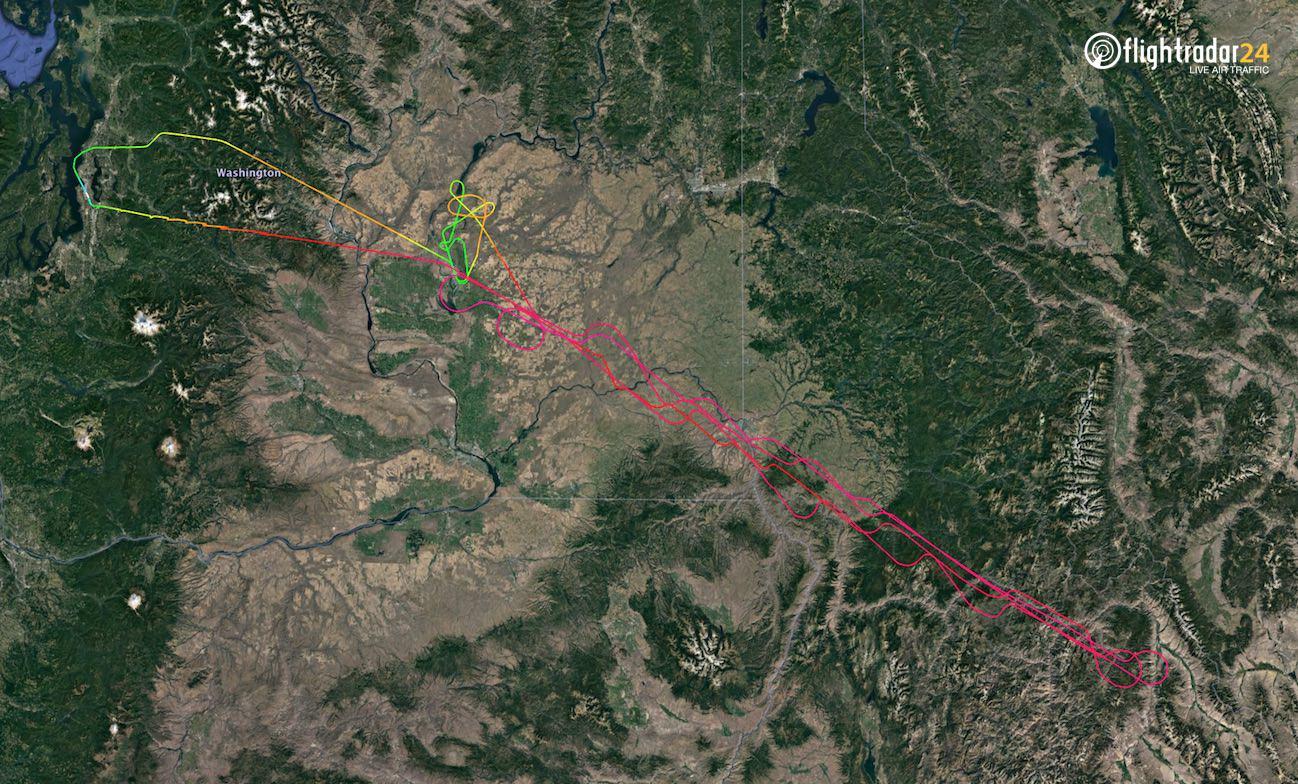 BOE701 flight path 30 June 2020