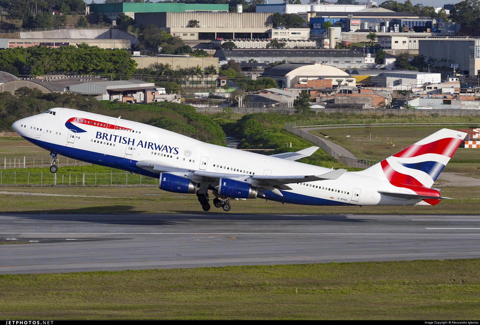 British Airways 747-436