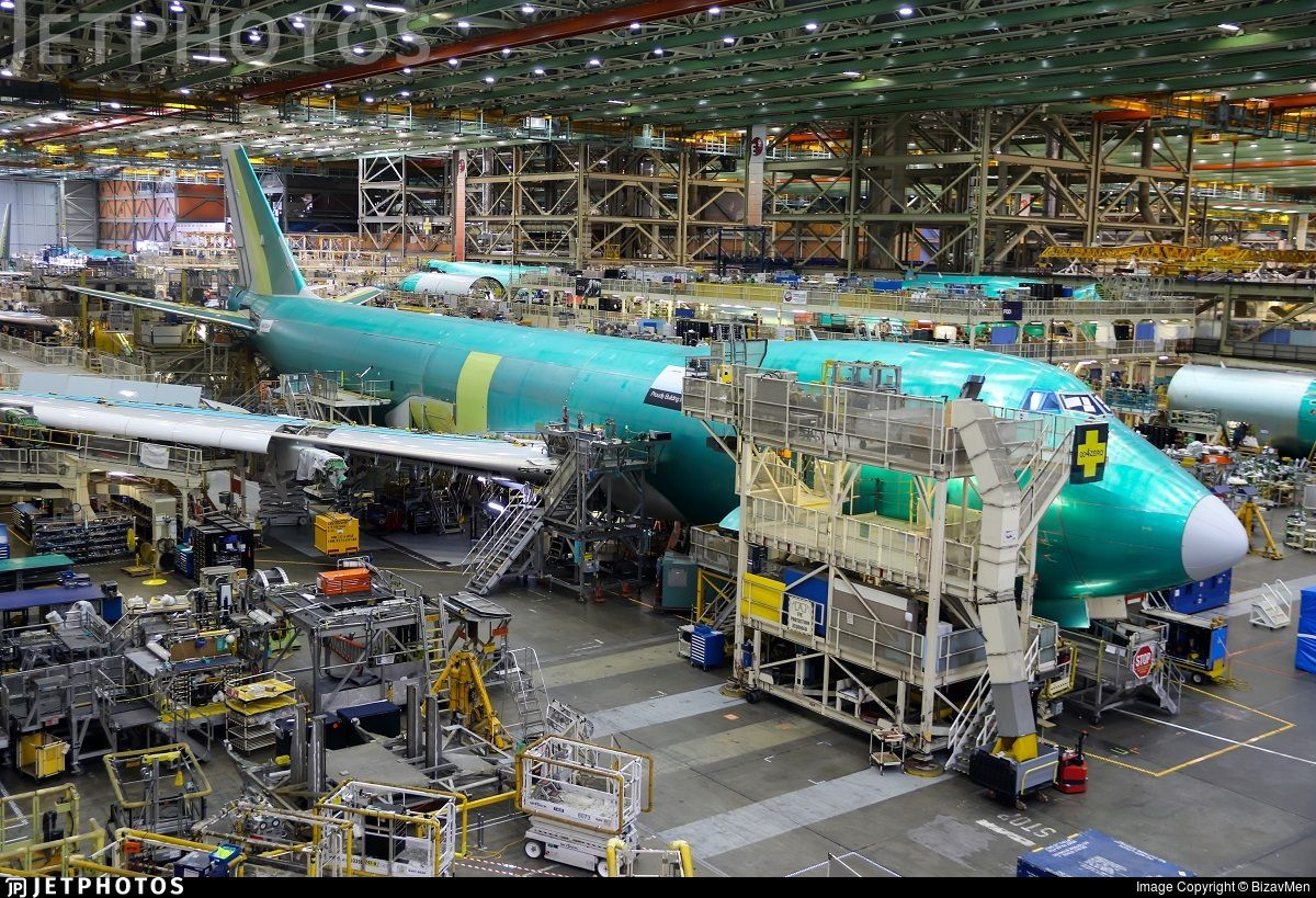 Boeing 747 production