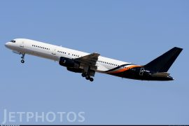 Titan Airways 757 G-ZAPX