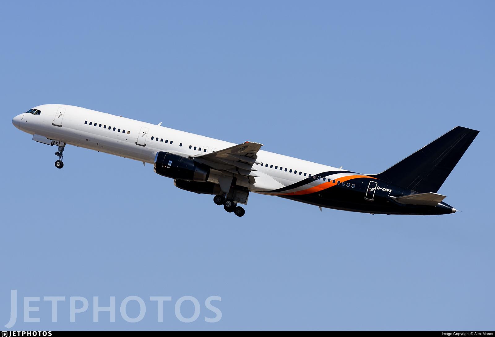 Titan Airways 757 G-ZAPX