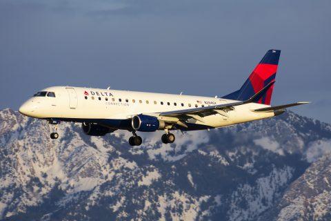 Delta Skywest Embraer 170