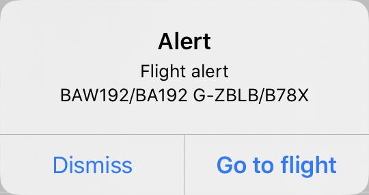 Alert Notification Example