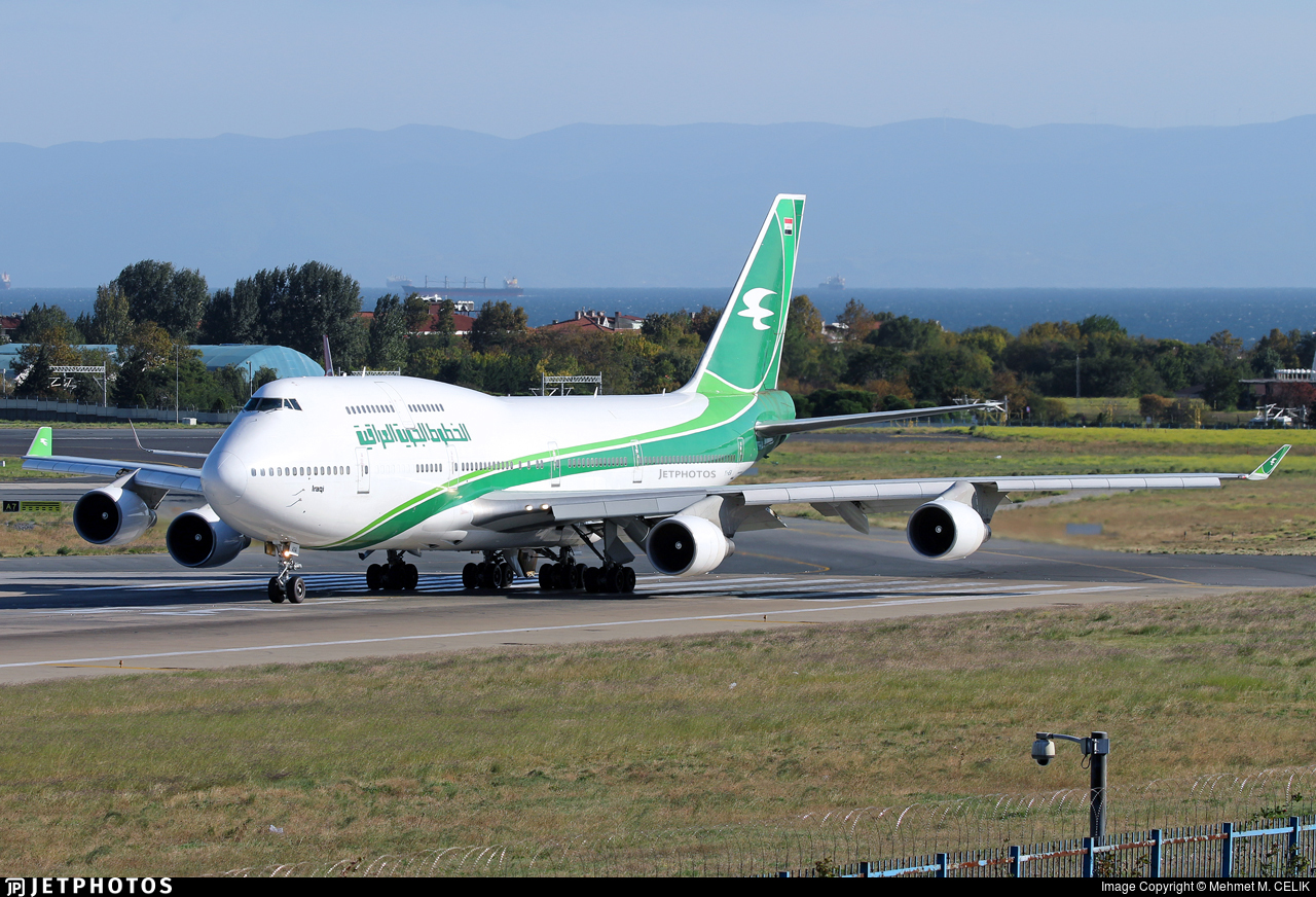 Iraqi Airways 747