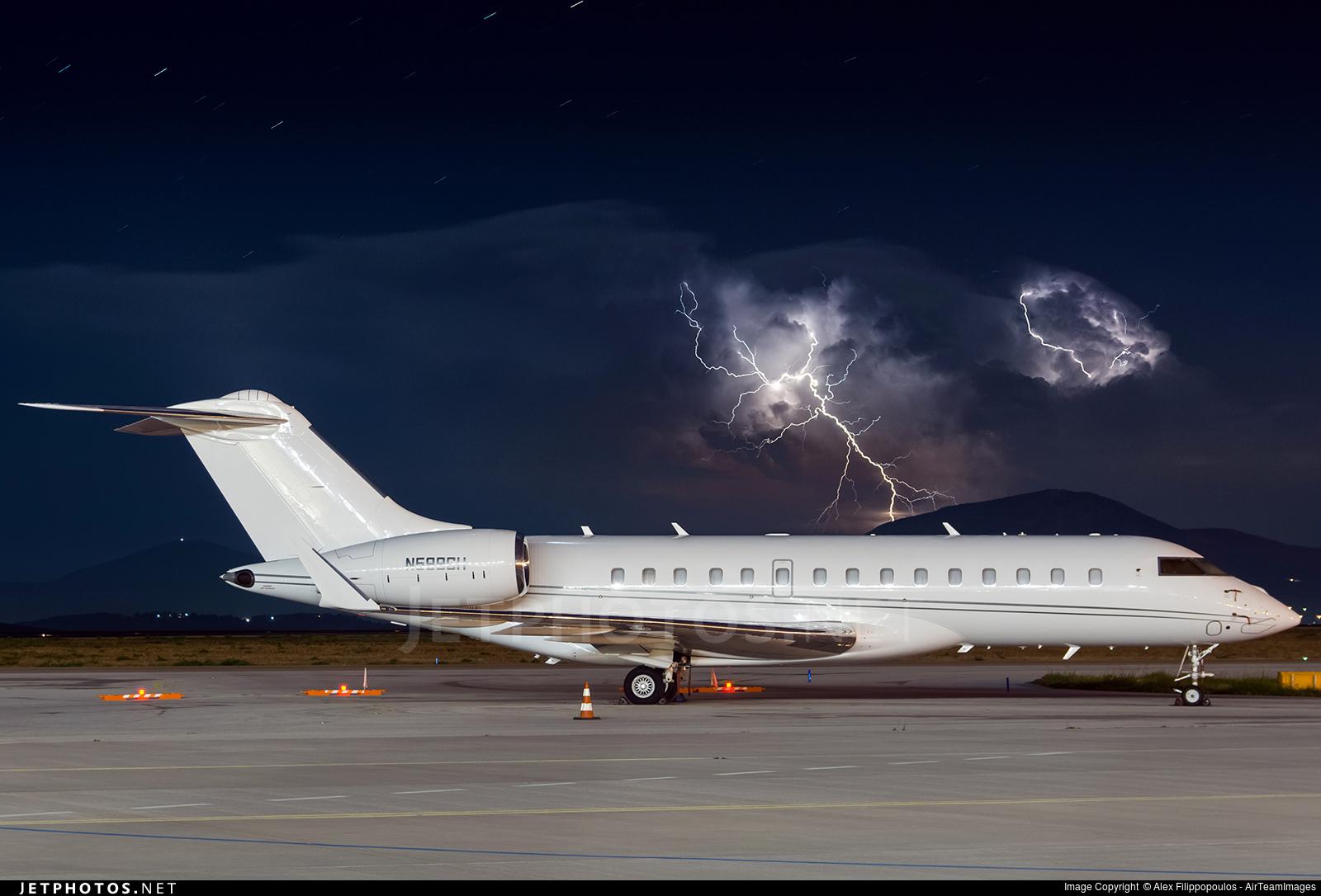 METAR Bombardier Challenger storm weather