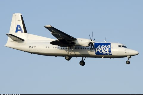 Amapola Fokker 50