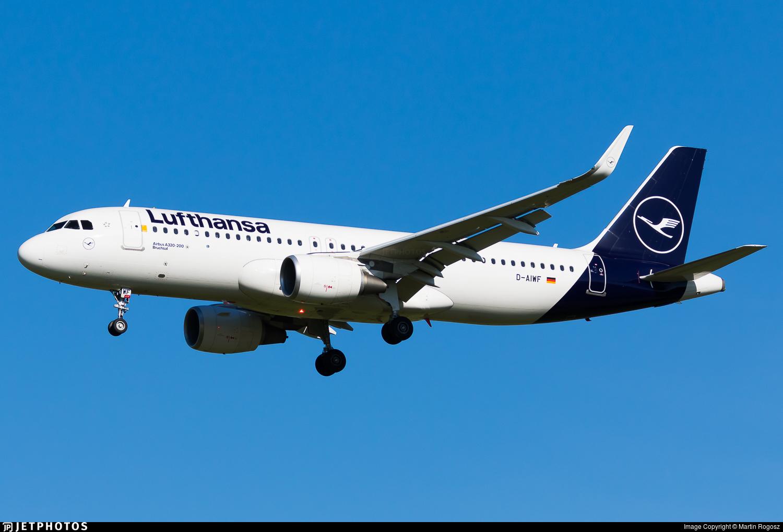 Lufthansa A320 METAR CAVOK