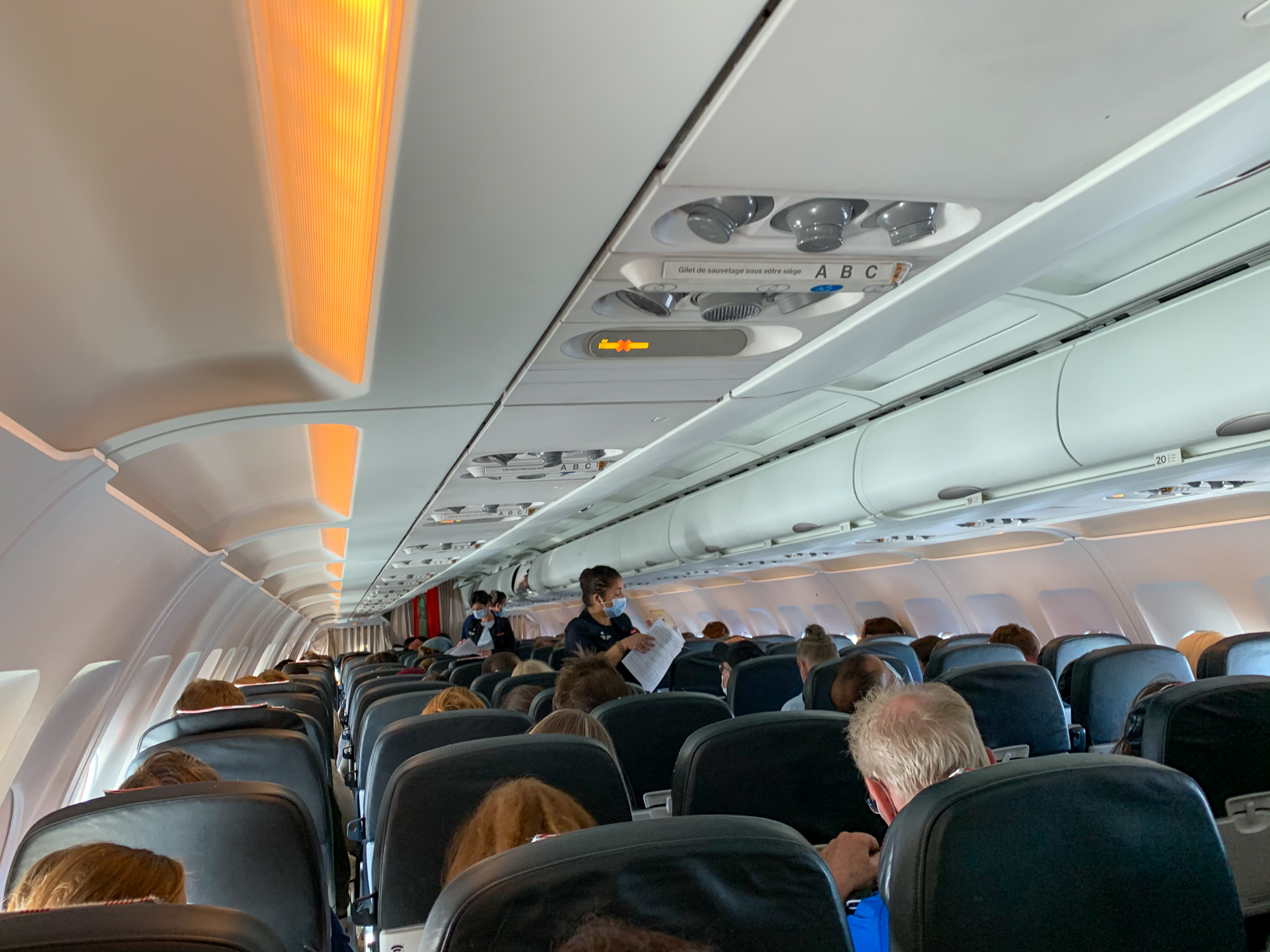Onboard Air France A319