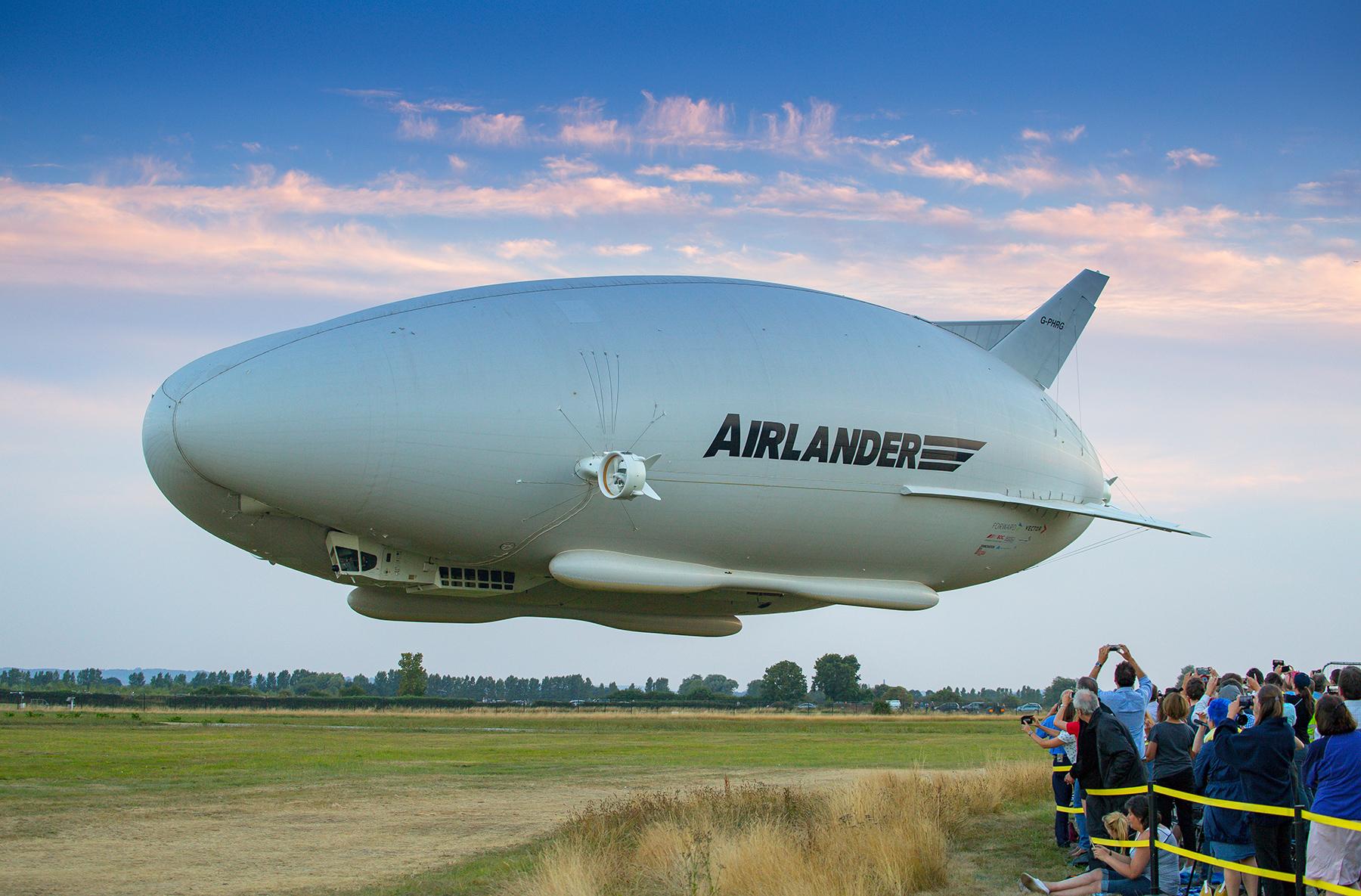 Airship Hybrid Air Vehicles OceanSky cruises
