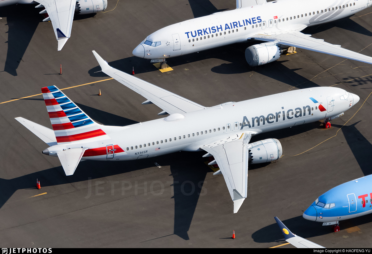 American Airlines 737 MAX Boeing grounded safety