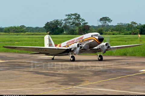 DC-3 Colombia Aerolineas Llaneras