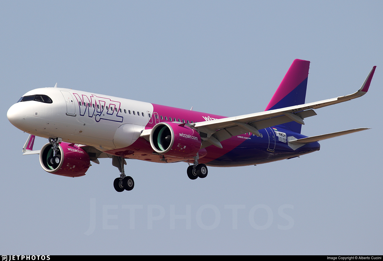 Wizz Air A320neo pandemic flying Europe low-cost airlines