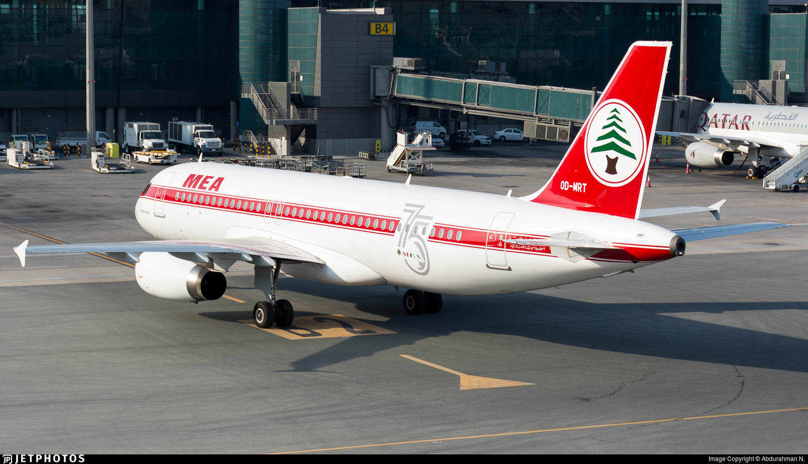 Middle East Airlines call sign Cedar Jet