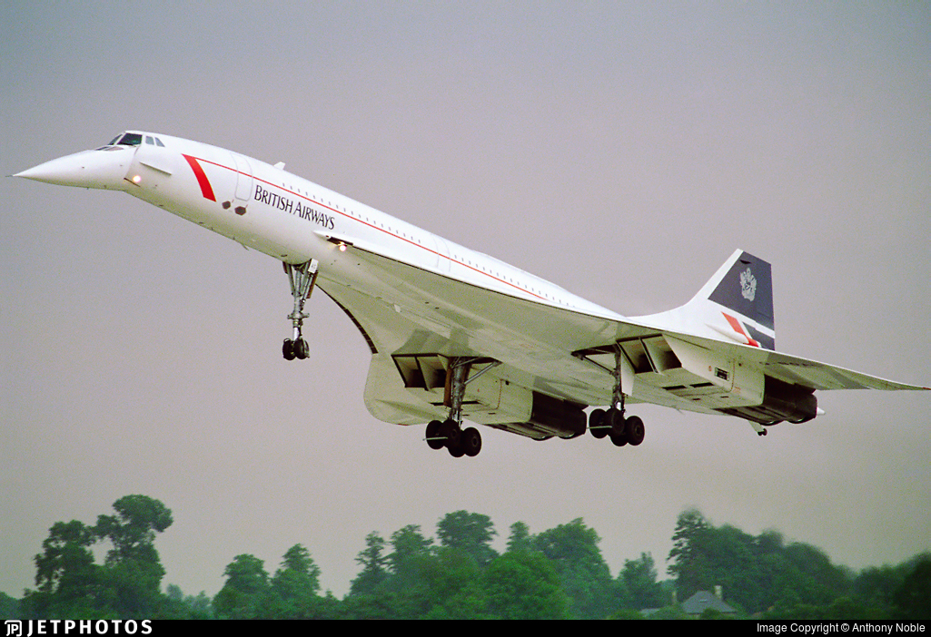 British Airways Concorde BA001 BA1 flight numbers which routes have flight 1