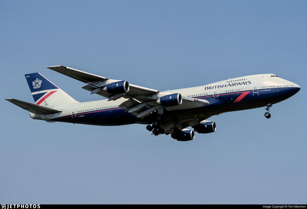 British Airways 747 pilot what made it special